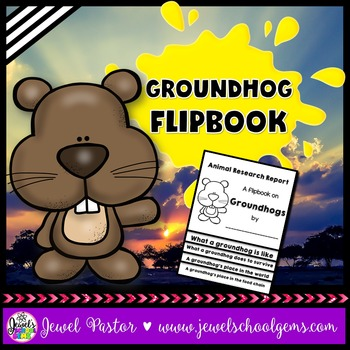 Groundhog Research Flipbook (Groundhog Day Activities)