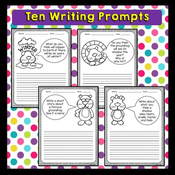 Groundhog Day Activities (Groundhog Day Writing Prompts)
