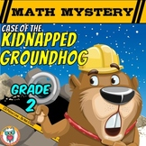 Groundhog Day Math Mystery Activity (2nd Grade)