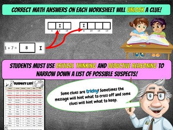 2nd Grade Groundhog Day Math Mystery Activity