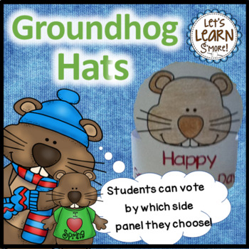 Groundhog Day -  Hats for February Activities