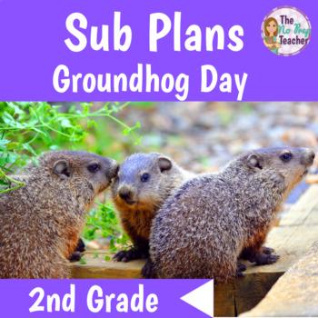 2nd Grade Sub Plans Groundhog Day