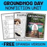 Groundhog Day Activities Nonfiction Unit