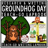 Groundhog Day Activities Lapbook- Groundhog Day Writing Fe