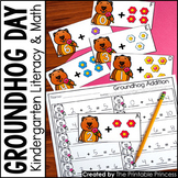 Kindergarten Groundhog Day Activities and Centers Math and Literacy
