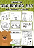 Groundhog Day Preschool No Prep Worksheets Activities