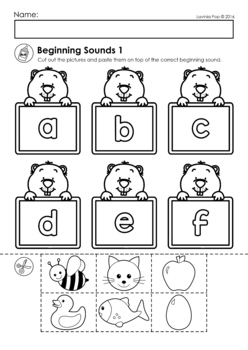 Groundhog Day Preschool No Prep Worksheets Activities by Lavinia Pop