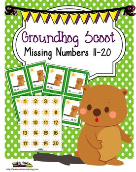 Groundhog Day Missing Numbers Scoot