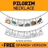 Pilgrim Activity Necklace Craft
