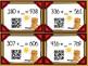 Groundhog Day 3 Digit QR Addition- Missing Addend Flash Cards