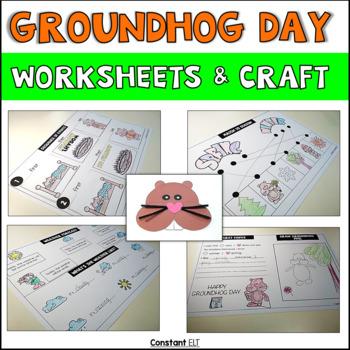 Groundhog Day Activities and Craft