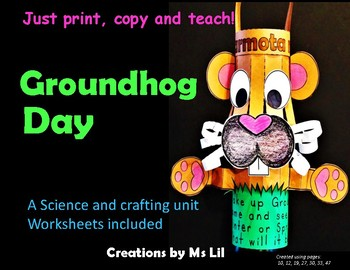 Groundhog Day   ::   A Crafty Science Project