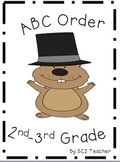 Groundhog Day ABC Order - Literacy Center