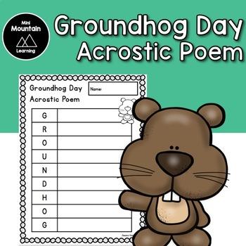 Groundhog Day Acrostic Poem