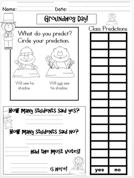 Groundhog Day: Activites For Young Learners