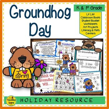 Groundhog Day: Activities & Centers