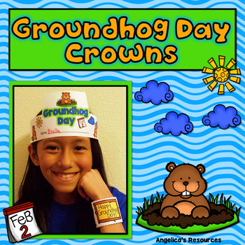 Groundhog Day Activities : Crowns and Wristbands - Groundhog Day Craft