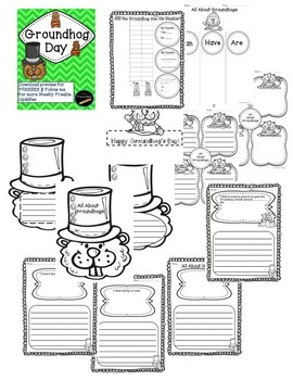 Groundhog Day Activities-Download Preview for Freebie & Follow for more