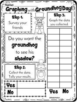 Groundhog Day Printables NO PREP FREEBIE!! by Sheila Melton | TpT