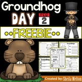 Groundhog Day Printables FREEBIE!!