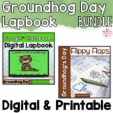 Groundhog Day Activities Interactive Notebook Digital and