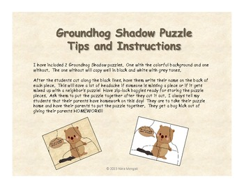 Groundhog Day Activities - Printables, Games, Song and More!! PRINT and GO!!!