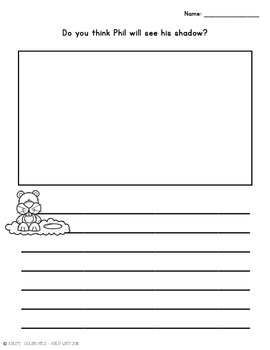 Groundhog Day Activities - Reading, Writing, & Graphing