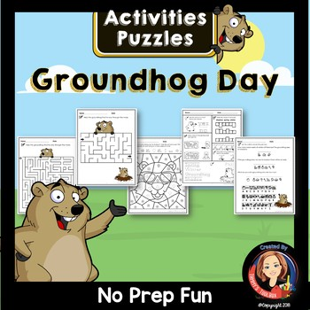Groundhog Day Activities and Puzzles