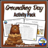 Groundhog Day Activity Pack