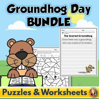 Groundhog Day Activities and Writing Bundle