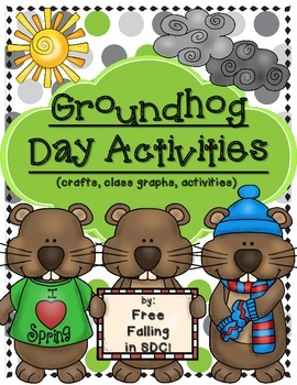 Groundhog Day Activities (crafts, class graphs, and more!)