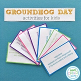 Groundhog Day Activities for Kids - STEAM Activity Cards