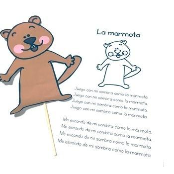 La Marmota/Groundhog Day Activities in Spanish