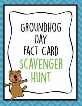 Groundhog Day Scavenger Hunt