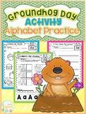 Groundhog Day Activity Alphabet Practice