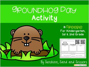 Groundhog Day Activity {FREEBIE}