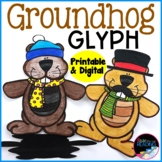 Groundhog Day Activity: Groundhog Day Glyph, Groundhog Day Craft