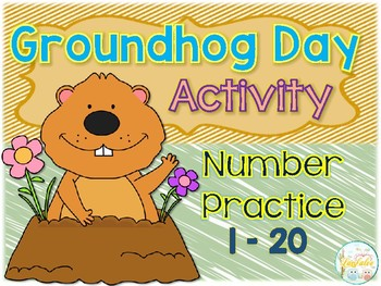 Groundhog Day Activity Number Practice