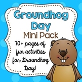 Groundhog Day Activity Pack {Mini Book + Fun Printables!}