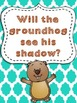 Groundhog Day Activity Pack *predicting, writing, QR codes