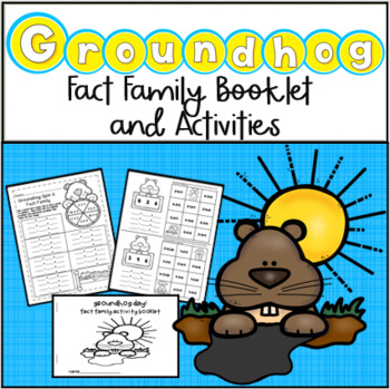 Groundhog Day Activity Packet