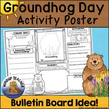 Groundhog Day Activity Sheet