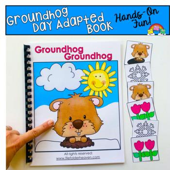 "Groundhog Day Adapted Book--""Groundhog, Groundhog"""