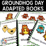 Groundhog Day Adapted Books for Special Education