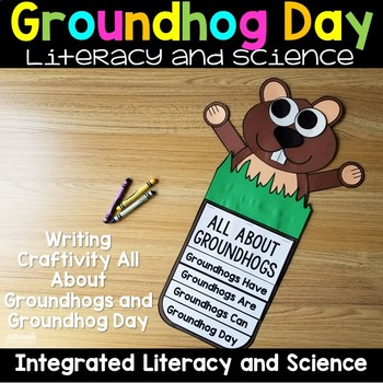 Groundhog Day - All About Groundhogs Nonfiction Unit