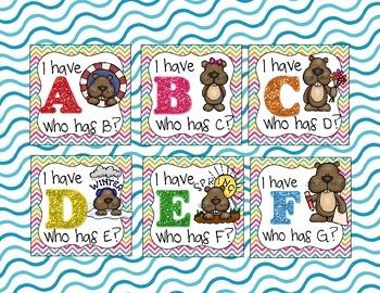 Groundhog Day Alphabet Games