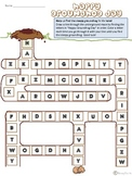 Groundhog Day Alphabet Maze
