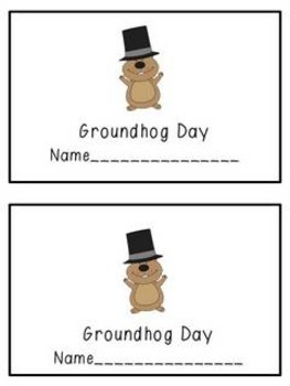 Groundhog Day: An Easy Reader with 3 Options for Word Work Differentiation
