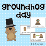 Groundhog Day: An Easy Reader with 3 Options for Word Work