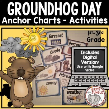 Groundhog Day Anchor Charts and Activities